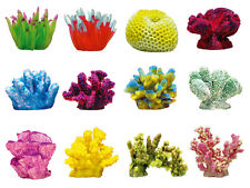 Artificial Coral Synthetic Reef Marine Aquarium Fish Tank Ornament EXOTIC USA