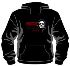 """Johnny Cash """"Quote"""" Pullover Hoodie *High Quality, Unisex, All Sizes*"""