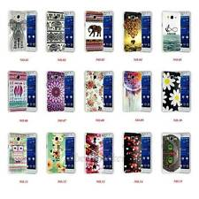 Various Pattern Art Design Soft Gel TPU Skin Cover Case For Samsung Galaxy Phone