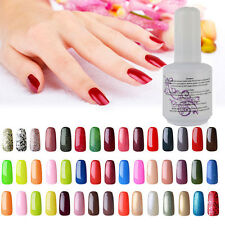 NEW 40 colors Soak-off UV Led Gel Polish Long-lasting Nail Art Manicure 15ml Hot