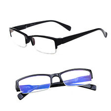 1.0 1.5 2.0 2.5 3.0 3.5 Diopter Semi Rimless Blue Film Reading Glasses Best Gift