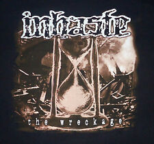 Inhaste - The Wreckage (2-sided/ color) shirt / New S M / Punk Hardcore Thrash