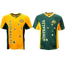 Adult Mens Sports Soccer Football Rugby Jersey Top T Shirt Australia Souvenir A