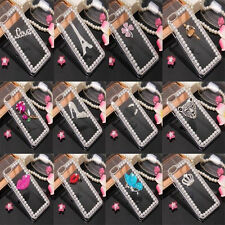 Luxury Crystal Pearl Eiffel Tower Cover Case Skin For various Alcatel cell Phone