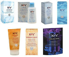 KY Lubricant Liquibeads, Liquid, Jelly, Ultragel, Warming Yours & Mine ALL SIZES