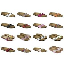 Birki by Birkenstock Menorca sandals - black white pink blue orange Disney