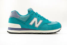 "[WL574PGW] NEW BALANCE 574 ""PENNANT PACK"" TEAL/WHITE WOMEN'S SIZE 6.5 TO 9.5 NIB"