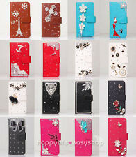New Model Color Rose Wallet Leather Flip Case Cover for Various Blackberry Phone