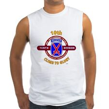 "10TH MOUNTAIN DIVISION  "" CLIMB TO GLORY ""  SLEEVELESS / TANK TOP SHIRT"