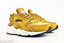 NIKE AIR HUARACHE BRONZINE BRONZE GOLD ALL SIZES 3-9 LIMITED EDITION NEW *LOOK*