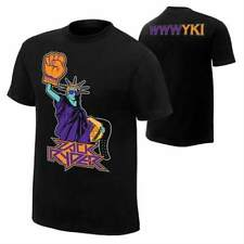 Zack Ryder Statue of Libroty Mens Black T-shirt