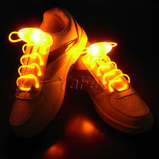 2015 NEW YEAR SALE Funny DISCO Night Flashing Waterproof Light-Up LED Shoelaces