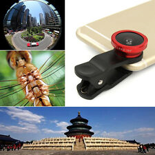 3in1 Universal 180° Fisheye + Wide Angle + Macro Lens for Smart Cell Phone