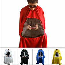 Hair Cutting Haircut Cape Hairdresser Barber Gown Stylist Viewing Window Cape
