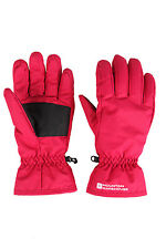 Womens Snowproof Winter Warm Snowboard Skiing Fleece Adjustable Cuffs Ski Gloves