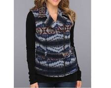 NEW WOMENS PENDLETON WOOL LAREDO NATIVE AMERICAN VEST HAWKEYE BLANKET JACKET