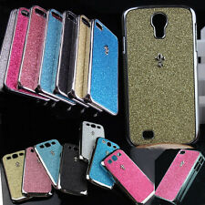 Unique Shiny Bling Glitter Hard Case Cover For iPhone 4 5 S Samsung S 3 4 Note 2