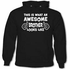This Is What An Awesome Brother Looks Like - Mens Funny Hoodie Father's Day
