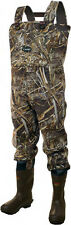****FREE SHIPPING***Frogg Toggs Amphib Neoprene Chest Waders Realtree Max 5 Camo