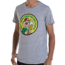 Obey Good Times for Bad People Heather Grey Vintage Thrift Tee beer t-shirt hat