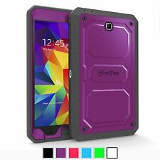 Rugged Dual Layer Hybrid Full Protective Cover For Samsung Galaxy Tab 4 7.0 Tab