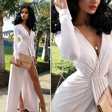 New Long Sexy Long Sleeve Dresses Ball Prom Gown Formal Cocktail Dress So Cool