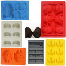 New 2015 Silicone Star Wars Ice Cube Tray Mold  Chocolate Soap Baking Mould DIY