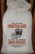 Primitive Feed Sack Home and Kitchen Pick From 22 Designs