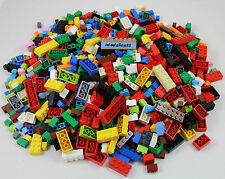 LEGO - Basic Building Bricks 1x & 2x Assorted Sizes Blocks 2x4 Lot Bulk Pound