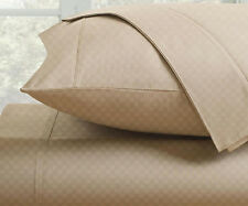 2-Pack Fine Deluxe Hotel 300 Thread Count 100% Cotton Checkered Sheet Set
