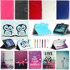 "Stylish Cool Universal Slim Leather Case Cover For 9.7-10.1"" Inch Android Tablet"