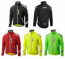 Altura EVO Mens WATERPROOF Breathable Cycling Jacket, High Visibility Soft Shell