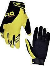 FRO SYSTEMS ADRENALINE GLOVES MOTOCROSS ENDURO SPEEDWAY 2013 YELLOW/BLACK NEW