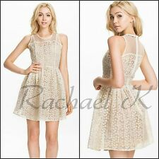New Women's Sexy Mini Floral Lace Shuffled Party Evening Party Clubbing Dress