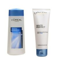 L'OREAL White Perfect Whitening Toner 200ml / Facial Foam / Anti-Dullness Scrub