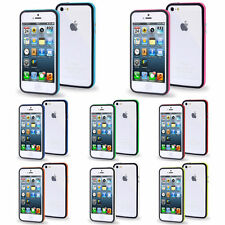 Silicone TPU Gel Bumper Case Cover Sleeve Skin For The Apple iPhone 4 4s 5 5s