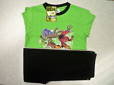 Boys Ben 10 Long Sleeve Pyjamas  Ages 3-4 / 5-6 / 7-8 / 9-10  - BNWT