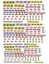 1:18 1:24 DECALS FOR DIECAST AND MODEL CARS & DIORAMA SMALL MOON