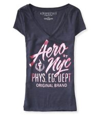 Aeropostale Womens NYC Phys. Ed. Dept. Graphic T-Shirt
