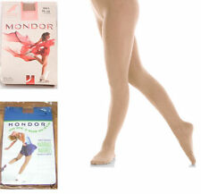 New Mondor 3371  Thick Footed Ice Skating Tights - Child & Adult Sizes