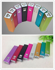 Hot Sale Aluminizing iPhone 5 5S USB 2600mAh Power Bank 18650 Battery Charger