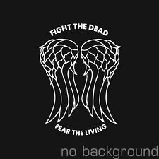 Daryl Dixon Wings The Walking Dead Decal Vinyl Sticker Angel Zombie TV Serie