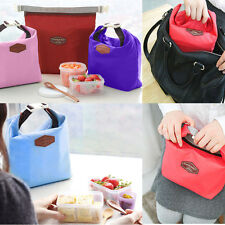 Thermal Cooler Insulated Lunch Carry Tote Boxes Picnic Storage Pouch Bag TSCA