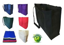 Extra Large Recycled Eco Friendly Grocery Shopping Tote Bag Book Travel Bags 20""