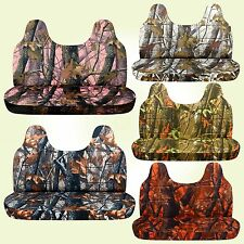 CC Ford f 150-250-350 camouflage bench seat cover with molded headrest 24 colors