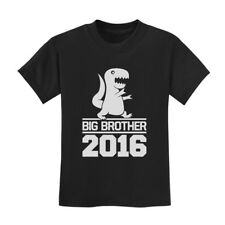 Big Brother 2015 Toddler T-Shirt New Baby Announcement Siblings Cute Shower Gift