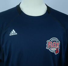 Brockton MA Rox Can-Am Indep League Adidas Team Performance ClimaLite Shirt EUC