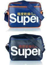SUPERDRY UTAH CARTELLA UOMO MESSENGER TRACOLLA BORSA DONNA SHOULDER BAG