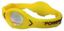 Yellow Power Balance Energy Health Original Bracelet Silicone Hologram code