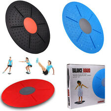 Professional Wobble Balance Board Stability Disc Yoga Training Fitness Exercise